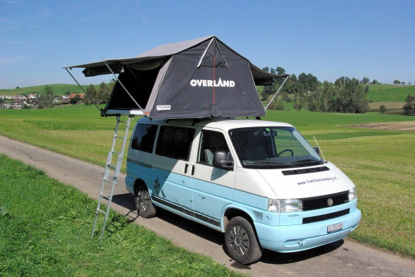 FamilienCamping Dachzelt Overland